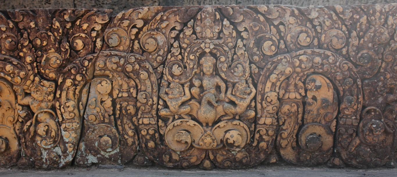 Relief in Banteay Srei