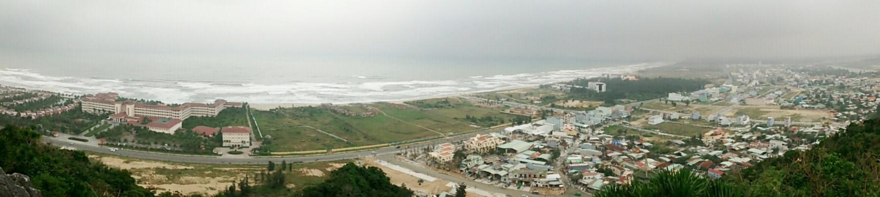Đà Nẵng Marmorberge Panorama vom Gipfel