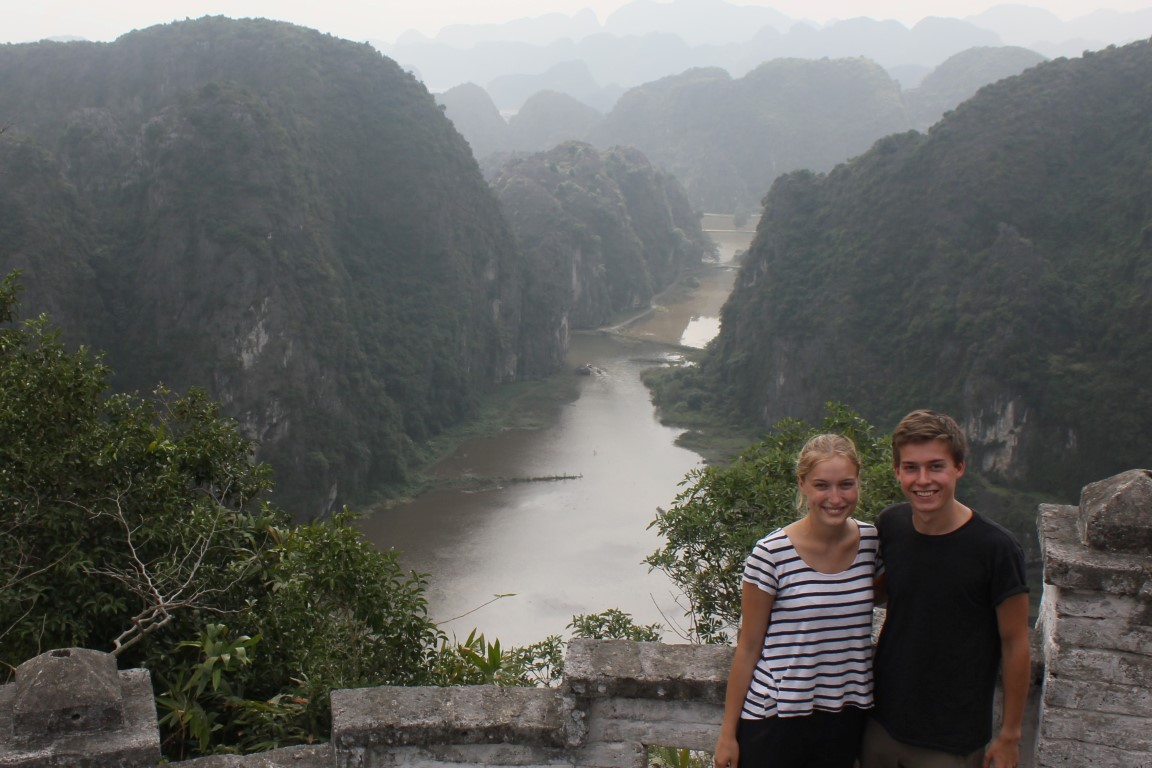 Ausblick auf Tam Cốc